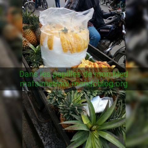 Zoom sur l'ananas du jour 😋 / Crédit Photo : Votre espionne culinaire