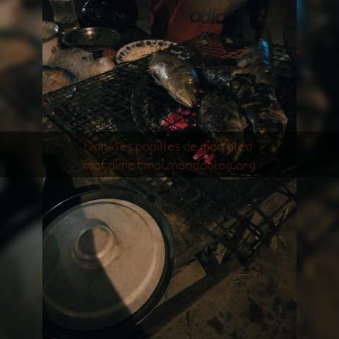 Poisson braisé chez elle / Crédit Photo : Votre espionne culinaire
