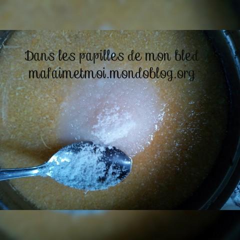 Sucre dans mon tapioca / Crédit Photo : Votre espionne culinaire