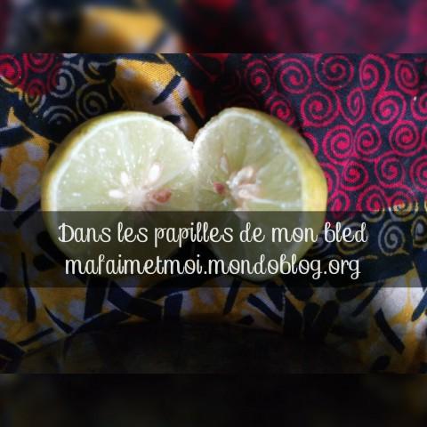 Citron d'où le jus sera tiré / Crédit Photo : Votre espionne culinaire