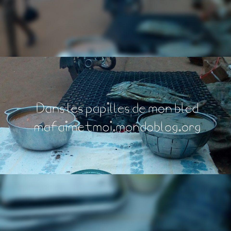 Marmites de piment et de condiments / Crédit Photo : Votre espionne culinaire
