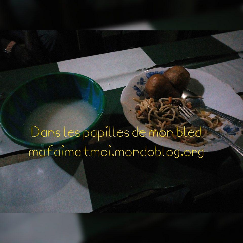 Les BHBS : Beignets Haricot Bouillie Spaghetti 😋 / Crédit Photo : Votre espionne culinaire